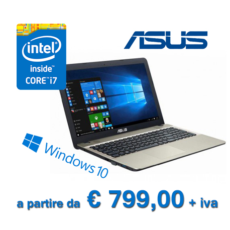 Notebook Asus i7